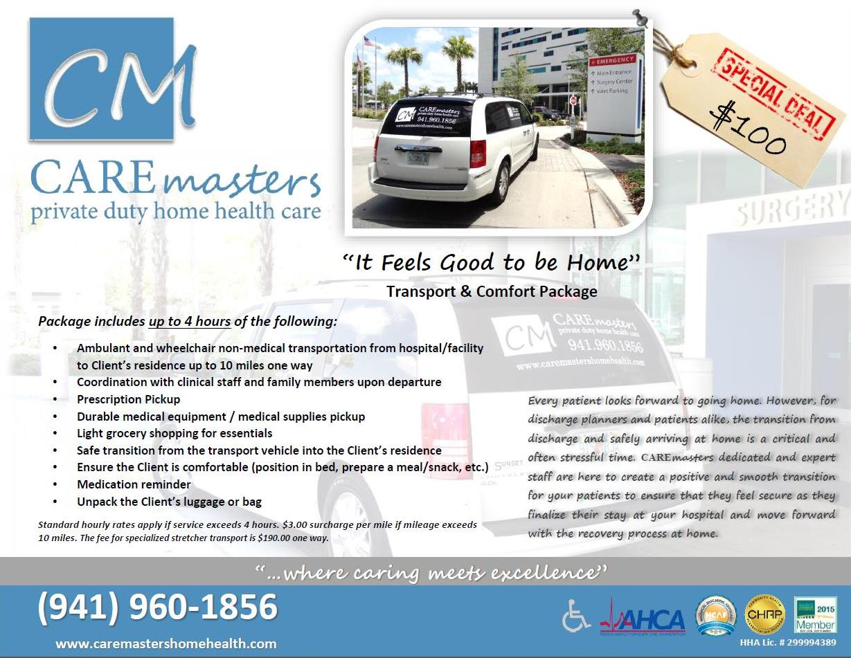 CAREmasters and Brochures for Your Sarasota Business
